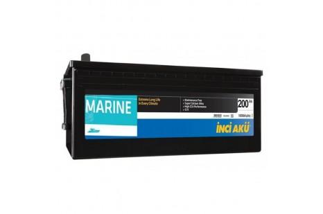 200 Amper Marine Akü
